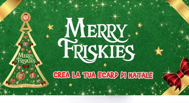 Merry friskies crea la tua e card di natale petpassion blog for Crea la tua planimetria gratis