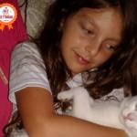 Storia di un gattino bianco tutto coccole e tenerezza