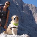 Storia di un cane abbandonato che ha ritrovato la fiducia nell'uomo