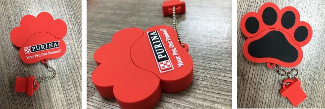 Penna USB regalo Purina