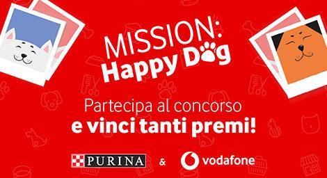 BANNER MISSION: Happy Dog