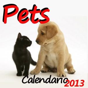 Calendario 2013 dei Pets