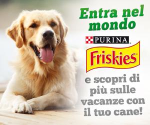 Friskies In viaggio col tuo cane