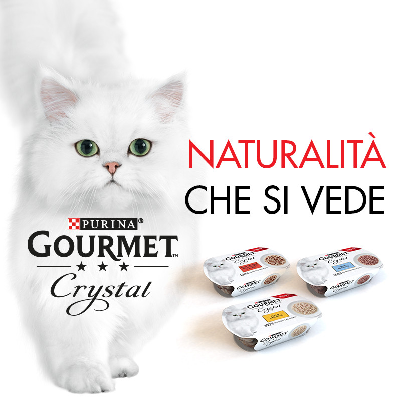 GOURMET Crystal, naturalità che si vede