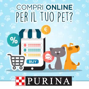Compri online per il tuo pet?
