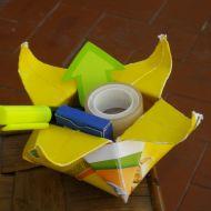 scatola origami porta tutto uffico