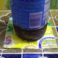 Sotto bottiglia per il compleanno del mio gatto.