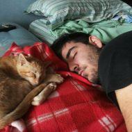Io e Romeo addormentati