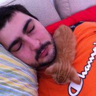 Nuova posizione per dormire