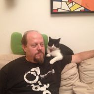 Io e Aisha sul divano