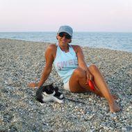 Nat e Aisha al mare
