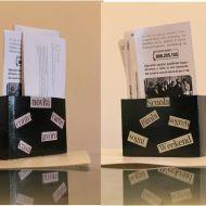 Scatola porta posta e carte